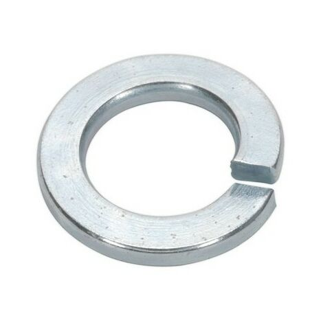 Sealey SWM12 Spring Washer M12 Zinc DIN 127B Pack of 50