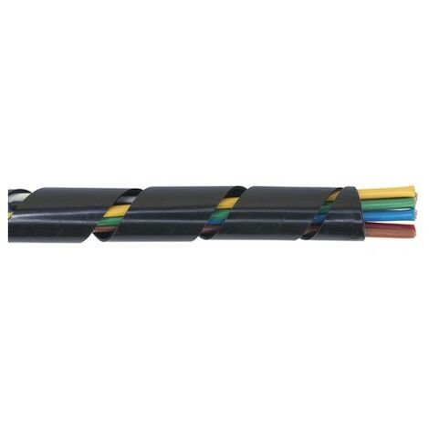 Sealey SWS1428 Spiral Wrap Cable Sleeving 14-28mm 10mtr