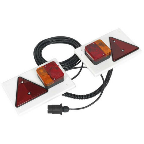 Sealey TB0212 2pc Lighting Board Set with 10mtr Cable & 12V Plug
