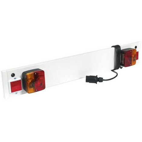 Sealey TB3/2 Trailer Board for Use with Cycle Carriers 3ft with 2mtr Cable
