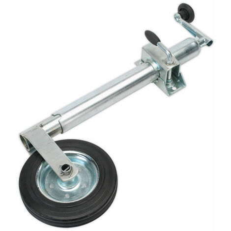 Sealey TB37 Jockey Wheel and Clamp Ø50mm - 200mm Solid Wheel