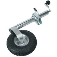 Sealey TB372 Jockey Wheel & Clamp Diameter 48mm - 260mm Pneumatic Wheel