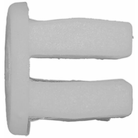 Sealey TCLN1010U Locking Nut, Ø10mm x 10mm, Universal - Pack of 20