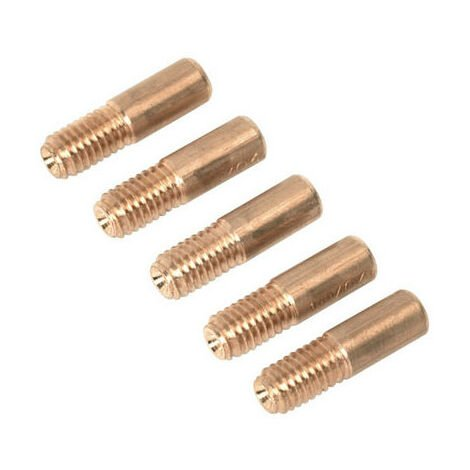 Sealey TG100/3 1.0mm Contact Tip Pack of 5