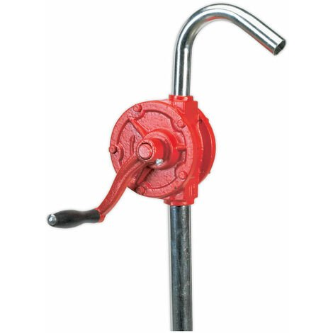 Sealey TP54 Rotary Oil Drum Pump 0.3l/revolution Plus Inlet Pipe