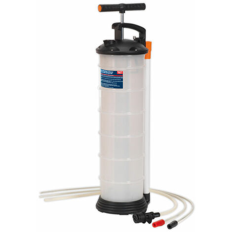 Sealey TP69 Vacuum Oil and Fluid Extractor Manual 6.5l