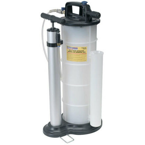 Sealey TP6904 9ltr Manual/Air Vacuum Oil & Fluid Extractor