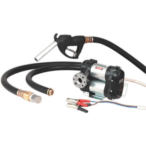Sealey TP98 Diesel & Fluid Transfer Pump 12V High Flow
