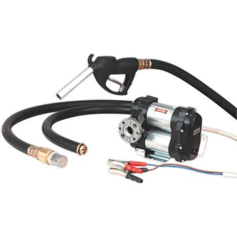 Sealey TP9824 Diesel & Fluid Transfer Pump 24V High Flow