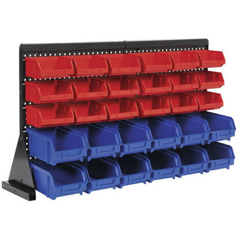 Sealey TPS1218 30 Bin Bench Mounting Storage System