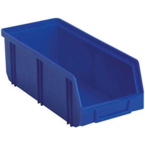 Sealey TPS2D Plastic Storage Bin Deep 105 x 240 x 85mm - Blue Pack of 28