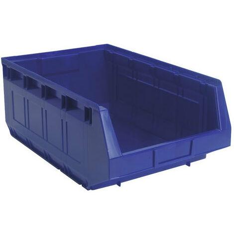 Sealey TPS5 310 x 500 x 190mm Plastic Storage Bin - Blue Pack of 12