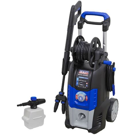 Sealey Twin Jet Pressure Washer 150 Bar 5m Cable 8m Hose Eco Mode PWTF2200