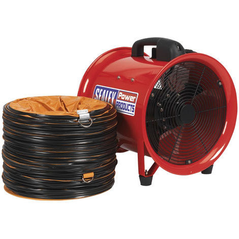 Sealey VEN300 Diameter 300mm Portable Ventilator with 5mtr Ducting