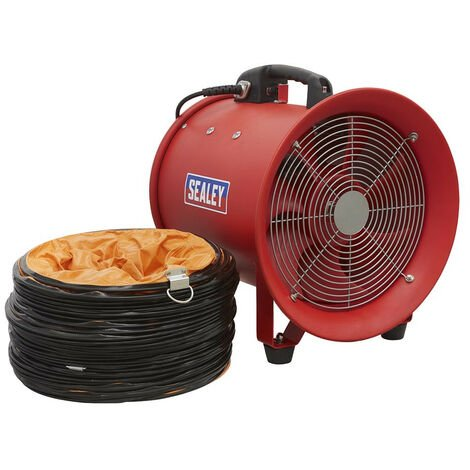Sealey VEN300 Portable Ventilator Ø300mm with 5m Ducting