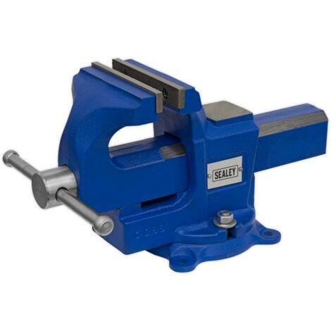 """main image of """"Sealey QAVE100 Vice 100mm Quick Action Swivel Base SG Iron"""""""