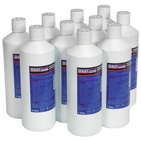 Sealey VMR921 1ltr Carpet/Upholstery Detergent Pack of 10