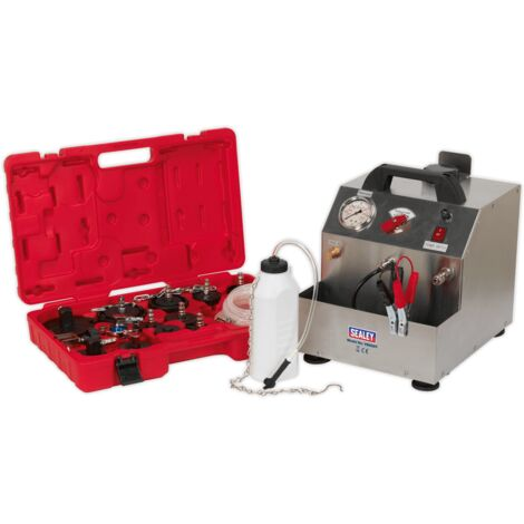 Sealey VS0207 Brake & Clutch Pressure Bleeder Kit 12V