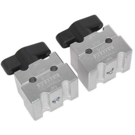 Sealey VS0357 Brake Pipe Clamp Set 2pc