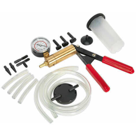 Sealey VS4021 Vacuum Tester & Brake Bleeding Kit