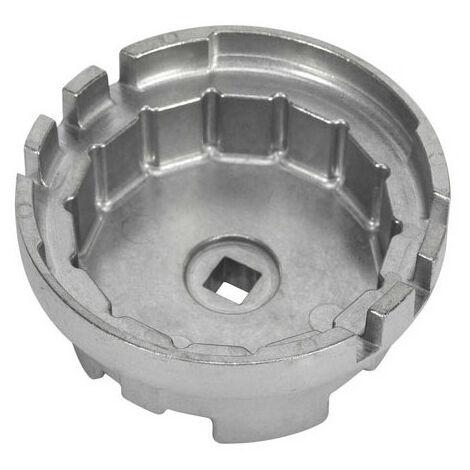 Sealey VS7112 Diameter 64.5mm Oil Filter Cap Wrench 14 Flutes - Lexus/Toyota