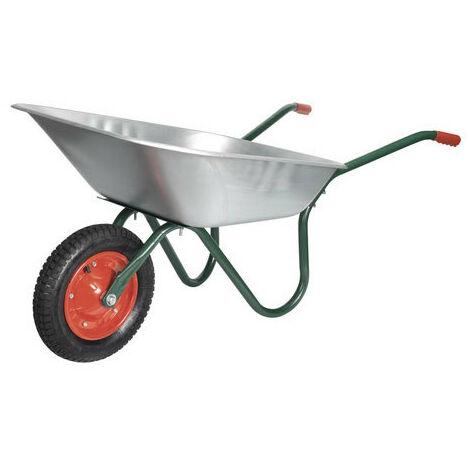 Sealey WB65 65ltr Galvanized Wheelbarrow