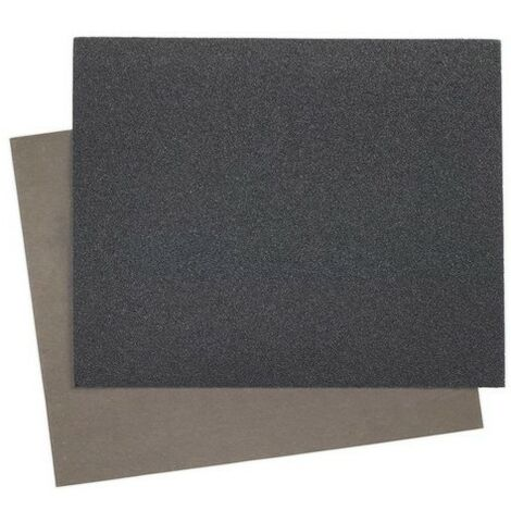 Sealey WD23281200 wet & dry paper 230 x 280mm 1200grit pack of 25