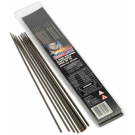 Sealey WE1025 Welding Electrodes 2.5mm Pack of 10