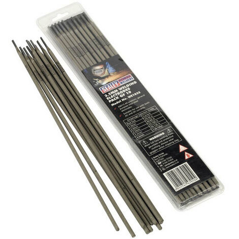 Sealey WE1032 Diameter 3.2 x 300mm Welding Electrodes Pack of 10