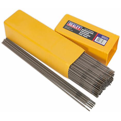 Sealey WEHF5025 Welding Electrodes Hardfacing Ø2.5 x 300mm 5kg Pack