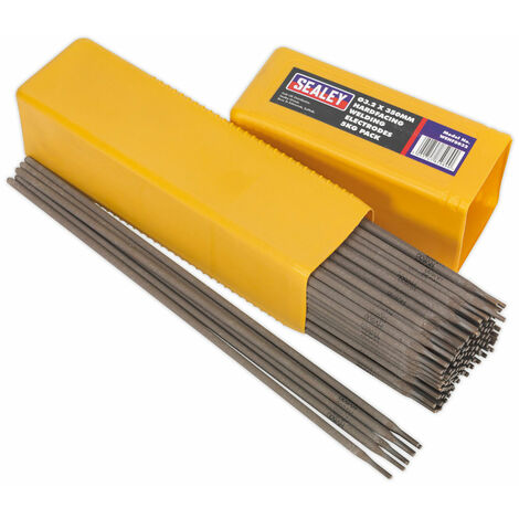 Sealey WEHF5032 Welding Electrodes Hardfacing Ø3.2 x 350mm 5kg Pack