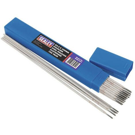 Sealey WESS1025 Diameter 2.5 x 350mm Stainless Steel Welding Electrodes 1kg Pack