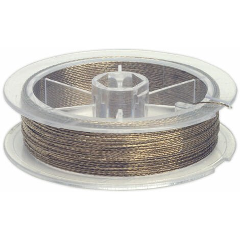 Sealey WK0513 windscreen cutting wire - braided
