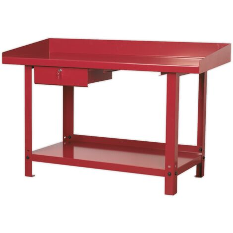 """main image of """"Sealey AP1015 Workbench Steel 1.5m with 1 Drawer"""""""