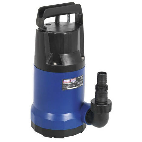Sealey WPC235 208ltr/min Submersible Water Pump