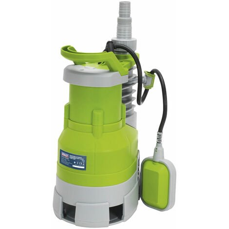 Sealey WPD235P Submersible Dirty Water Pump Automatic 225ltr/min 230V