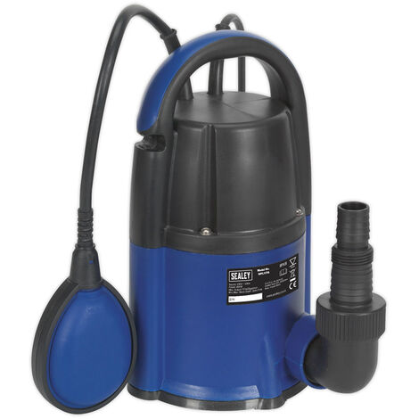 """main image of """"Sealey WPL117A Submersible Water Pump Automatic Low Level 2mm 117L/min 230V"""""""