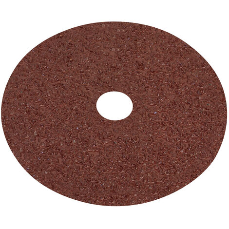 Sealey WSD416 Fibre Backed Disc 100mm - 16Grit Pack of 25