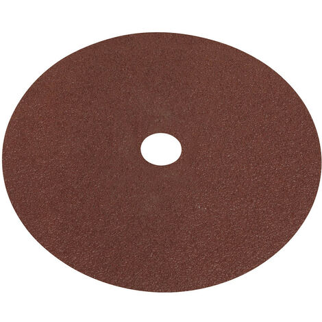 Sealey WSD740 Fibre Backed Disc 175mm - 40Grit Pack of 25