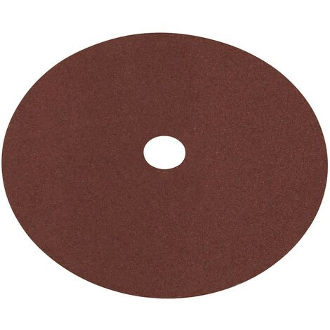 Sealey WSD760 Fibre Backed Disc 175mm - 60Grit Pack of 25