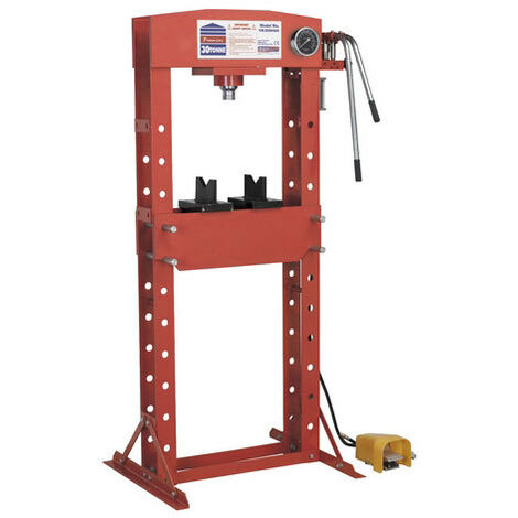 Sealey YK309FAH 30tonne Floor Type Air/Hydraulic Press with Foot Pedal