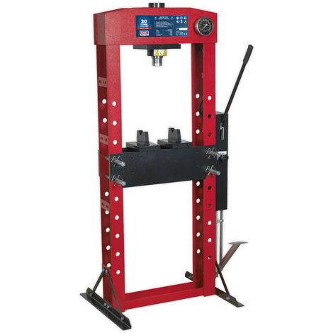 Sealey YK30FFP Hydraulic Press Premier 30tonne Floor Type with Foot Pedal