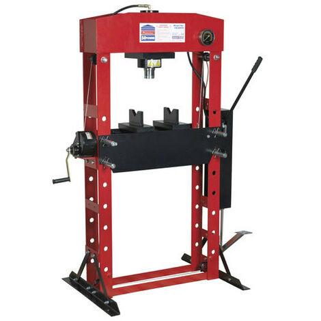 Sealey YK50FFP 50tonne Floor Type Premier Hydraulic Press with Foot Pedal