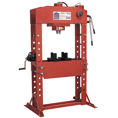 Sealey YK759F Hydraulic Press 75tonne Floor Type - Presses