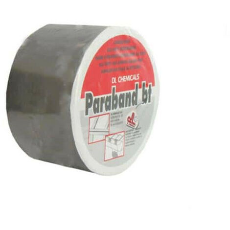 Sealing tape adhesive butyl DL Chemicals alu 75mm x 10m
