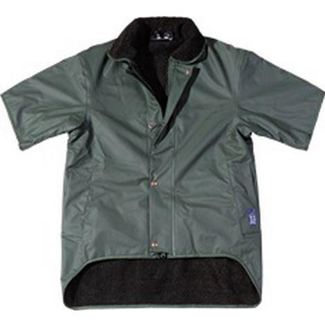 Seals Mens Sealflex Short Sleeved Jacket (Large UK) (Green)