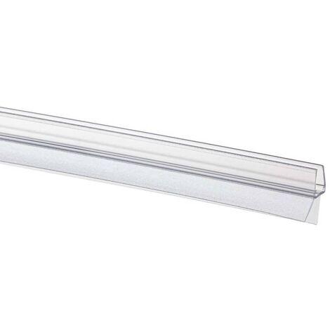 Sealskin Bas de porte de douche à jupette pour verre de 6-8 mm