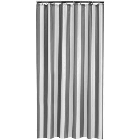 Sealskin Bathroom Shower Curtain Machine Washable Linje 180x200 cm Grey/Blue