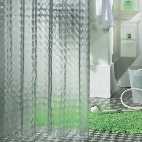Sealskin Cortina de ducha Prisma 180 cm transparente 211181300
