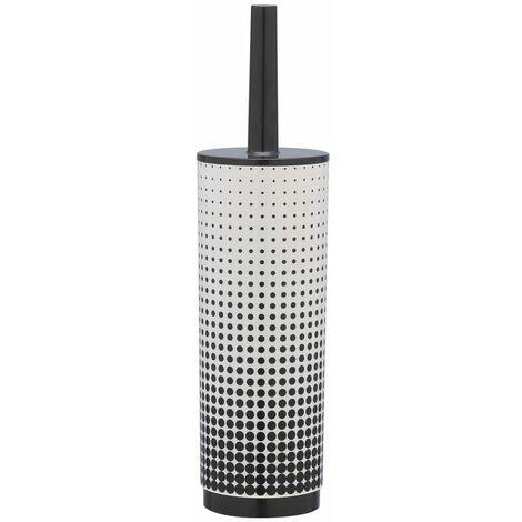 Sealskin escobilla y portaescobillas de baño Speckles361890519 (Negro)